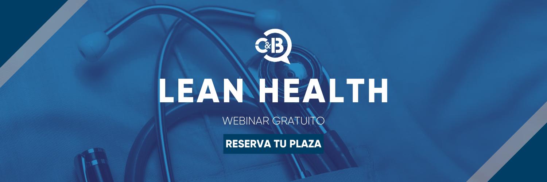 Éxito de Convocatoria en la I Edición del Webinar de Lean Health, por C&B Consultoría